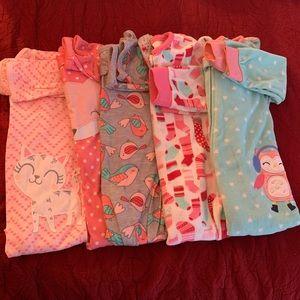Toddler girl pajamas